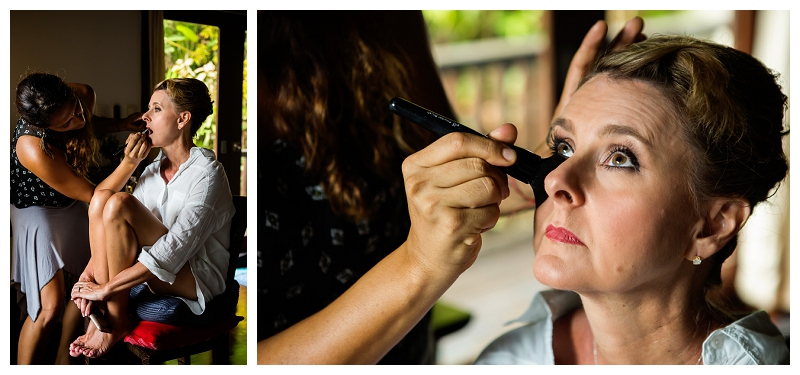 hair by monica, manuel antonio, wedding makeup
