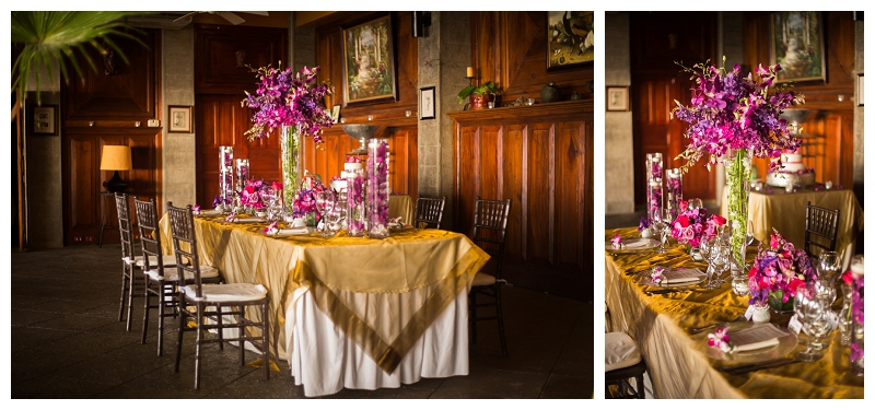 orchids, costa rica, wedding, purple
