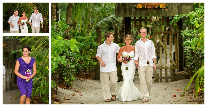 bali house, beach wedding, manuel antonio