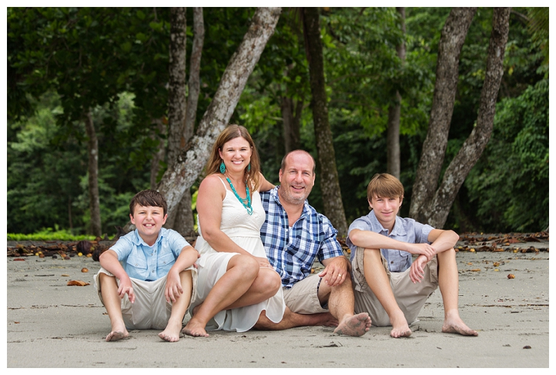 family photos, costa rica
