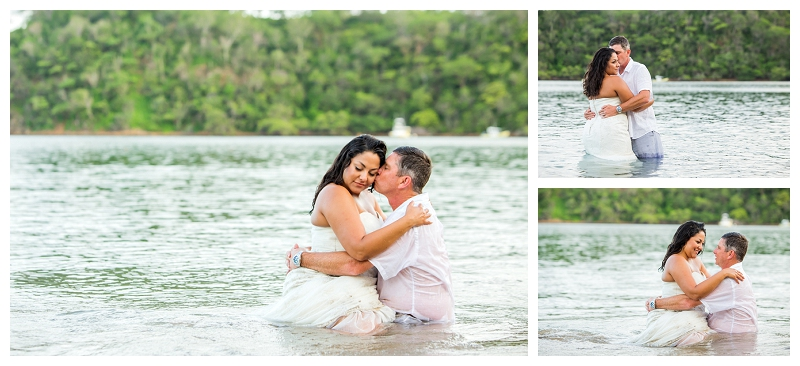 trash the dress, costa rica, photography