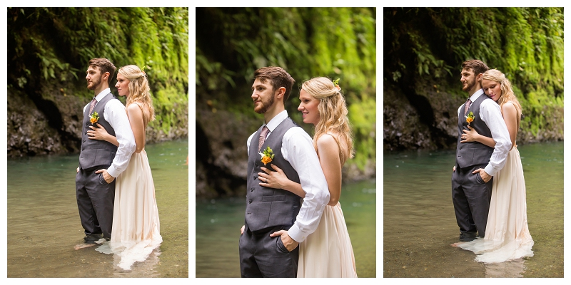 tropical wedding photography, costa rica
