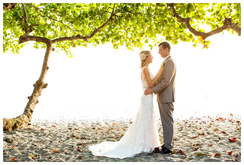 manuel antonio, costa rica, beach wedding