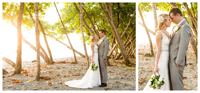 manuel antonio beach wedding