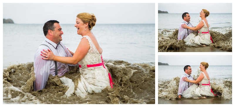 trash the dress photography costa rica