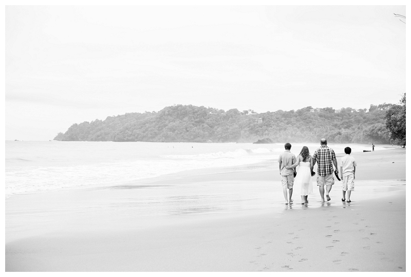 family portraits, manuel antonio beach