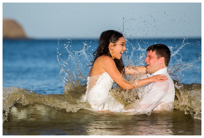 trash the dress, costa rica, photographers