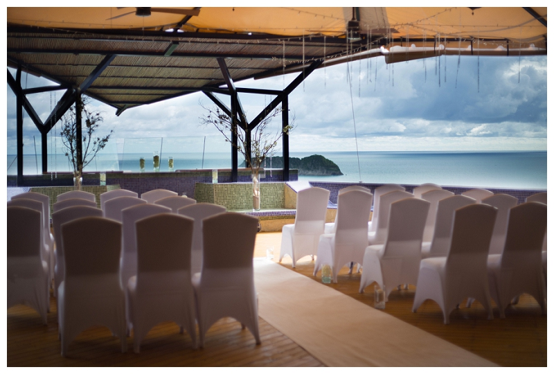 punta de vista, wedding, ceremony