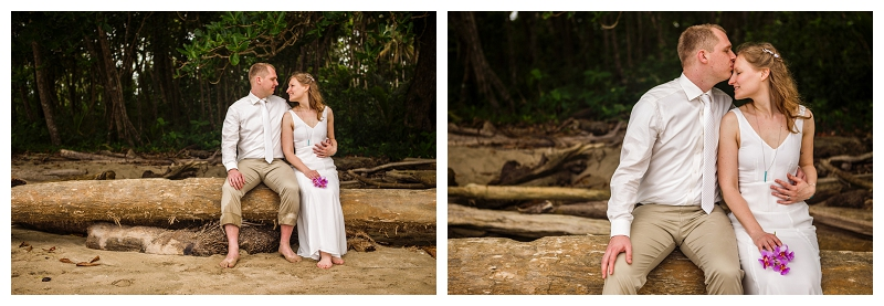 costa rica, beach, wedding, photography