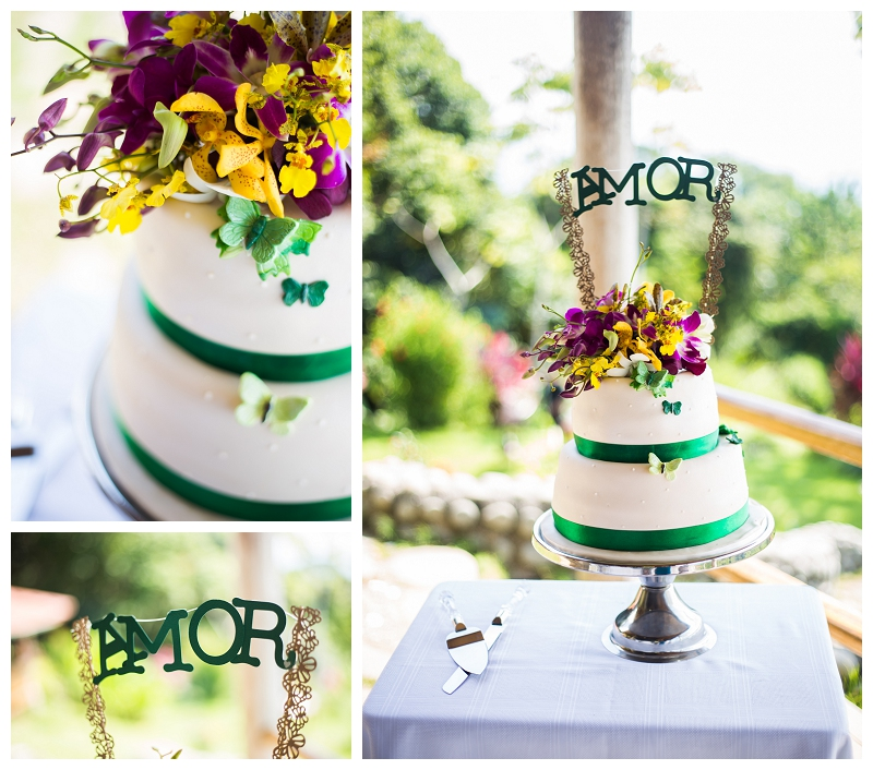 costa rica, wedding cakes