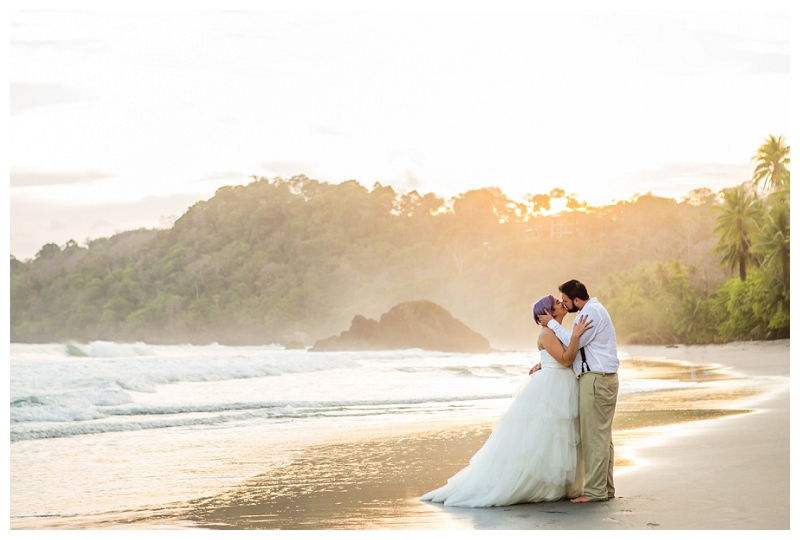 manuel antonio, trash the dress, photography