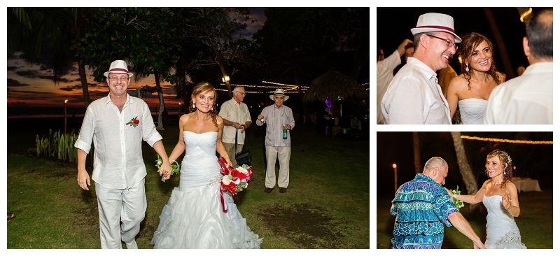 alma del pacifico, outdoor wedding