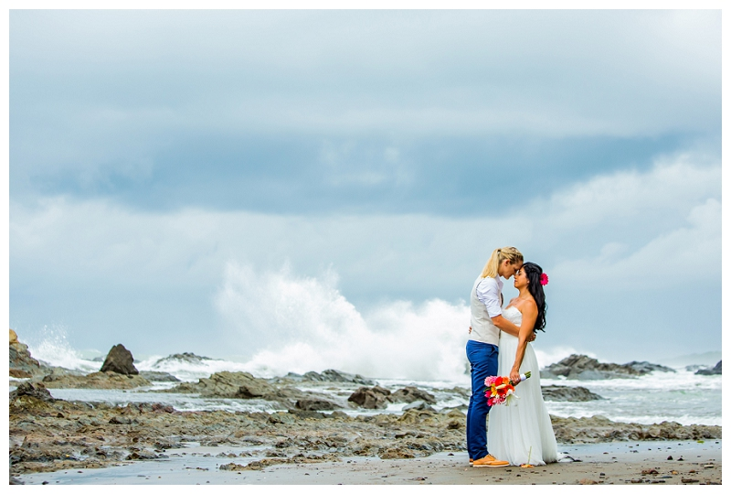 same sex wedding, costa rica, photographer
