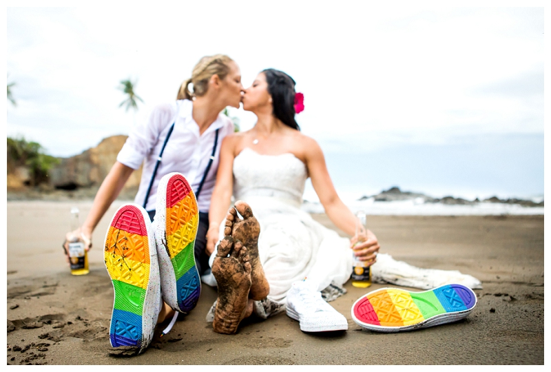 gay destination wedding, costa rica, photographer