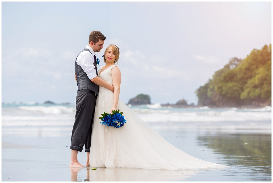 manuel antonio, beach wedding, photographers