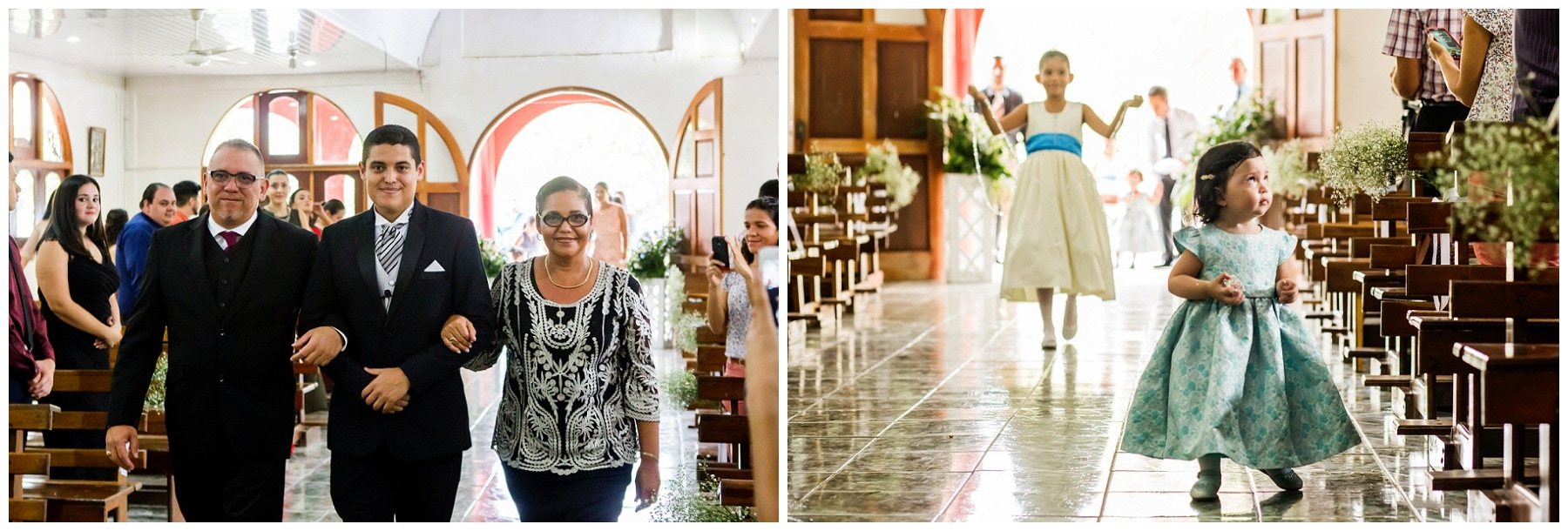 church wedding, costa rica, manuel antonio