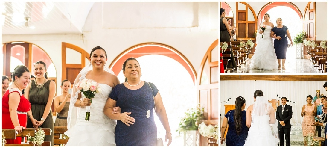 naranjito, church, wedding