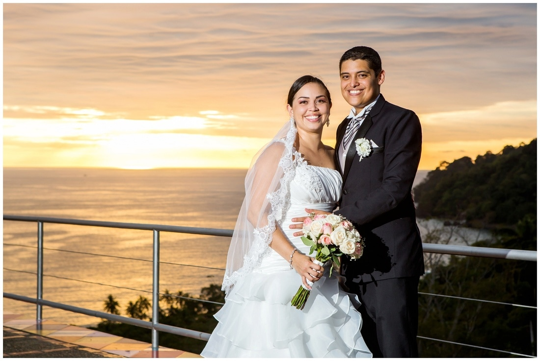 costa verde, helipad, wedding