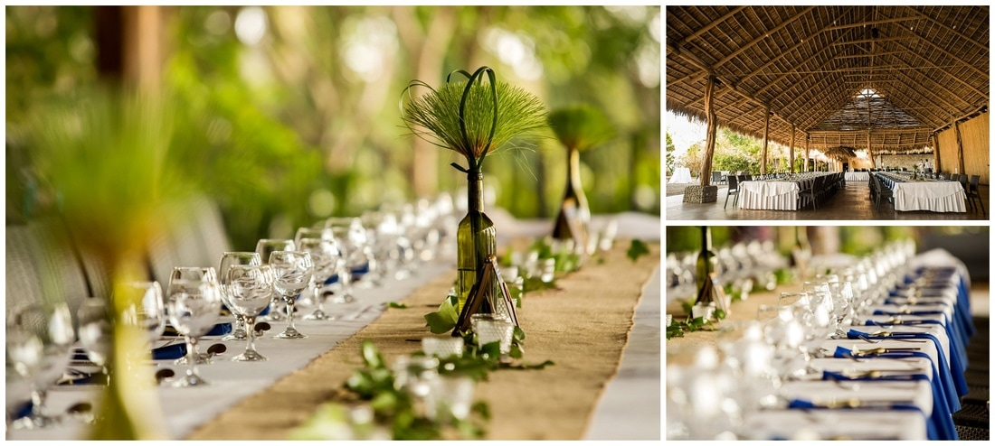 destination wedding at villa caletas