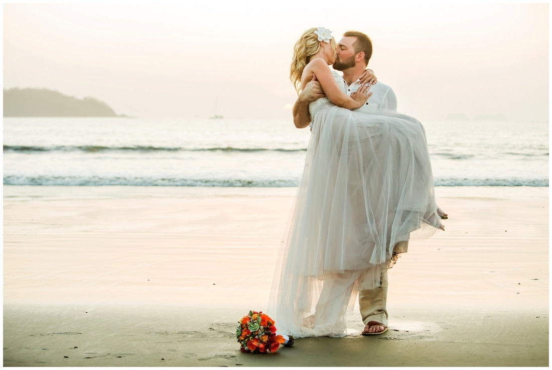 playa flamingo, wedding photographers, costa rica