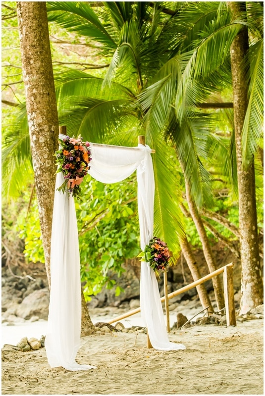 manuel antonio, elopement, beach, photographer