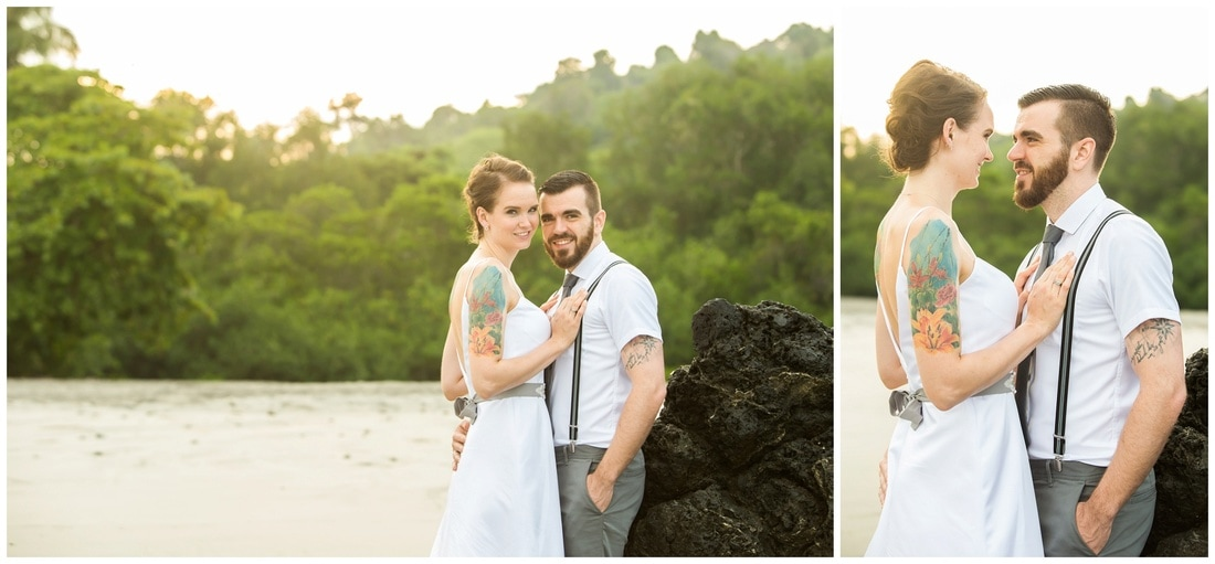 trash the dress photography manuel antonio