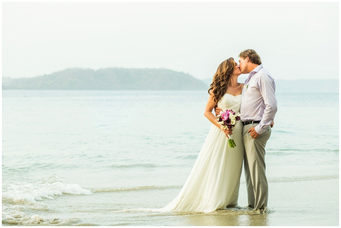 playa hermosa, guanacaste, wedding