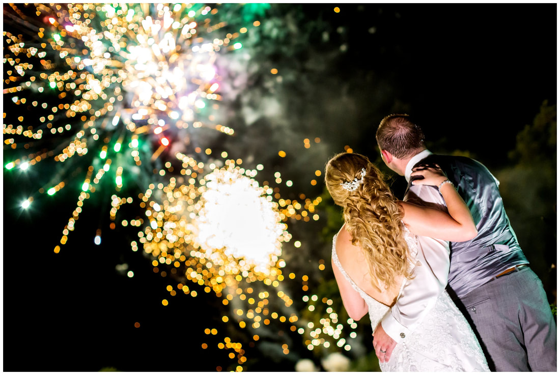 costa rica, wedding, fireworks, photography