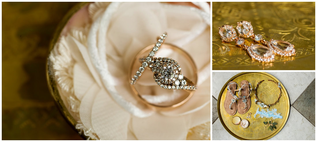 costa rica wedding details, photography