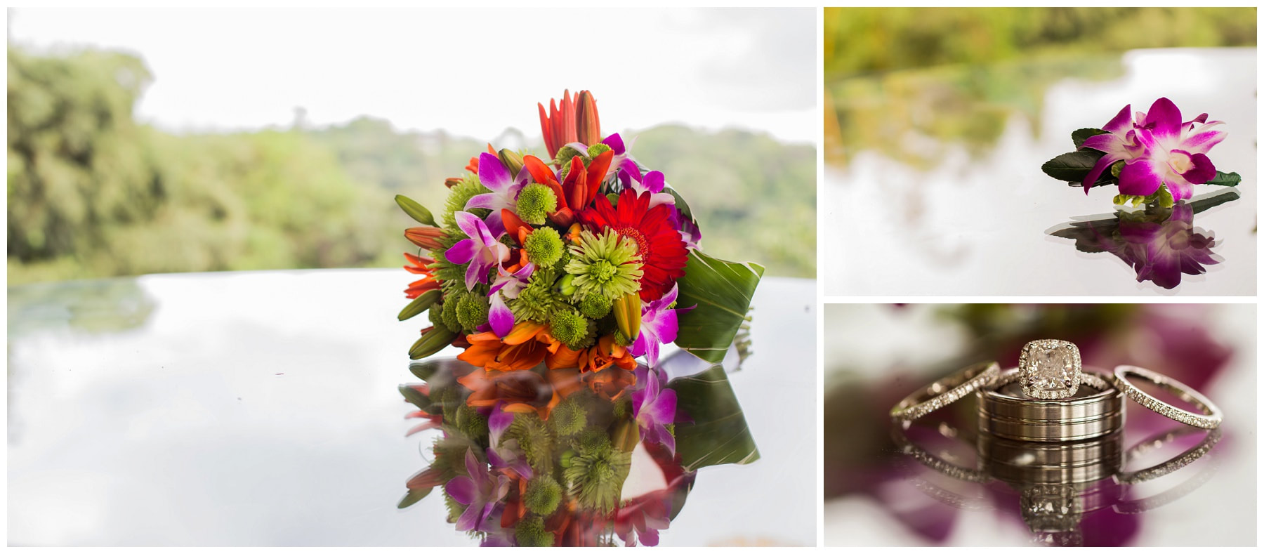 manuel antonio, wedding florist, costa rica