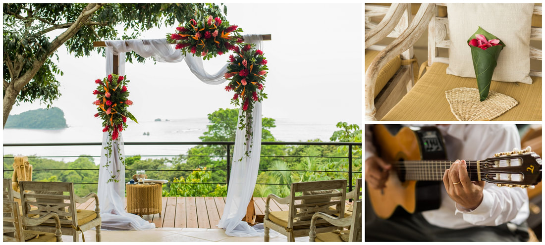 oasis destination wedding planning, manuel antonio