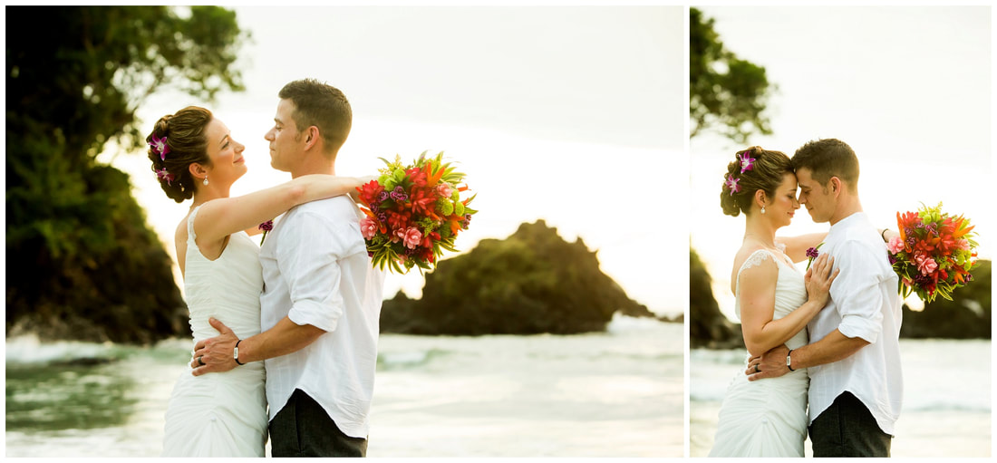 manuel antonio beach weddings, photographers