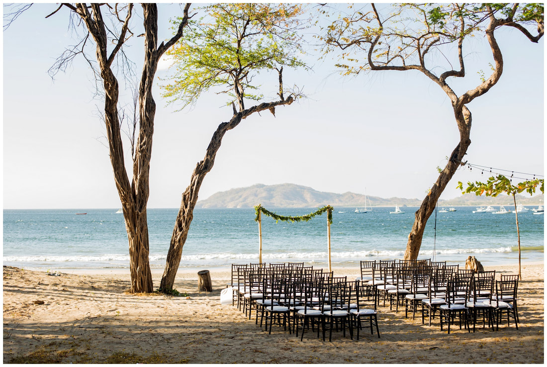langosta beach club, costa rica, destination wedding venue