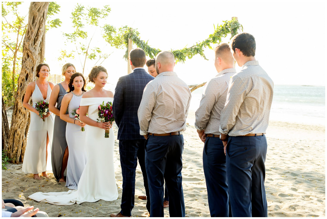 langosta beach club wedding ceremony, photography