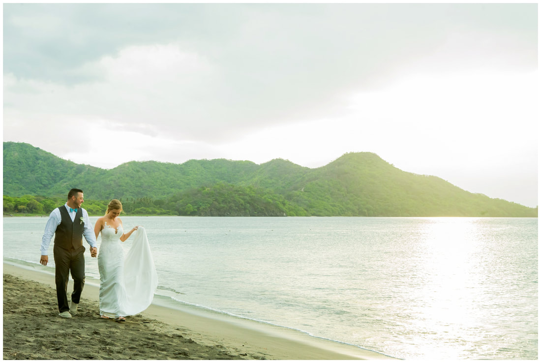 riu guanacaste, wedding photographer, wedding videography