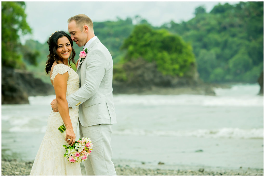 manuel antonio destination wedding videographers