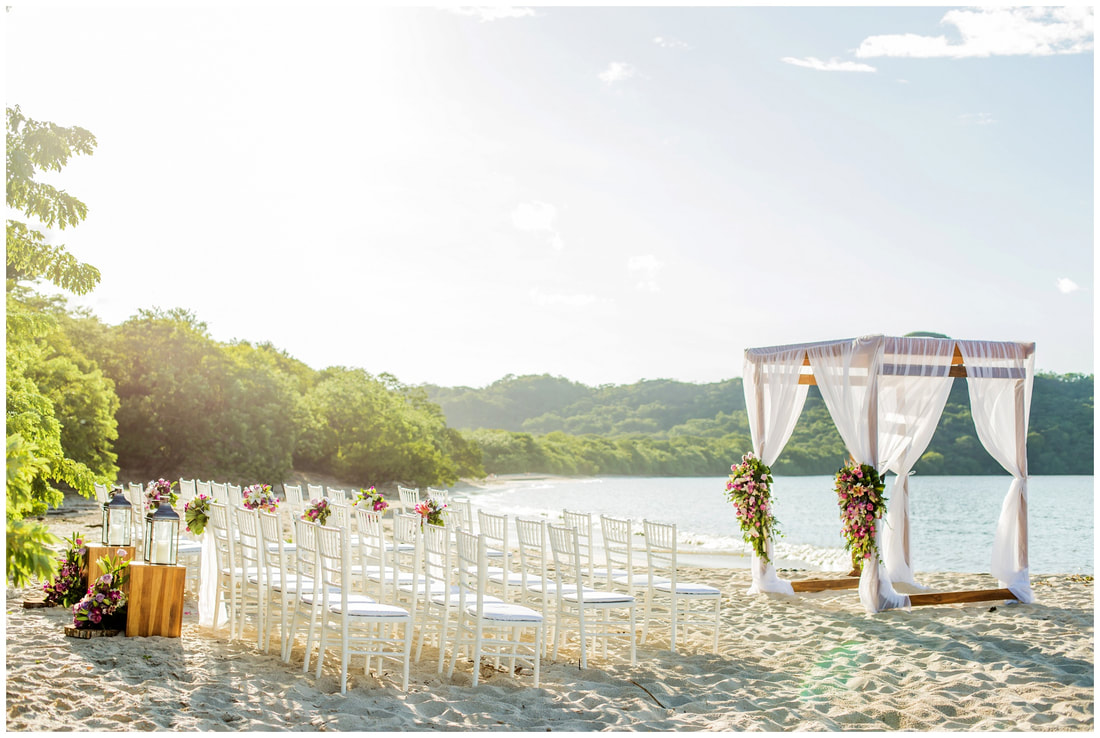 the westin, playa conchal, wedding, ceremony