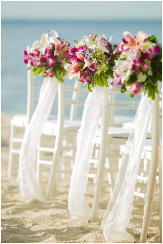 costa rica wedding florist