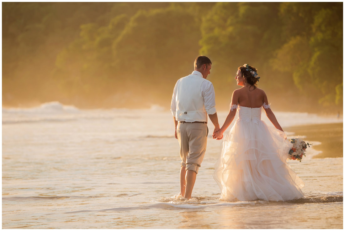 destination wedding, costa rica, photograher