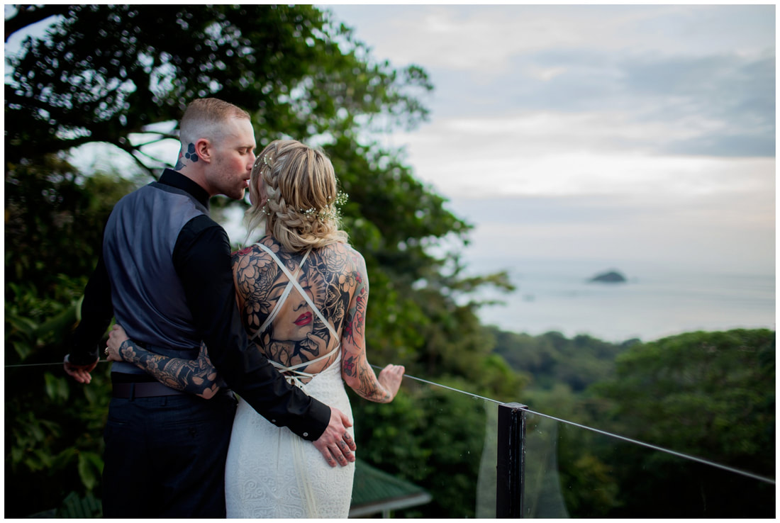 manuel antonio destination wedding
