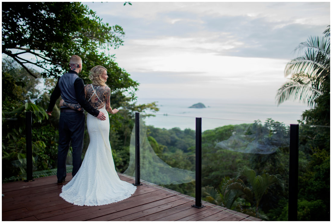 costa rica destination wedding, photography