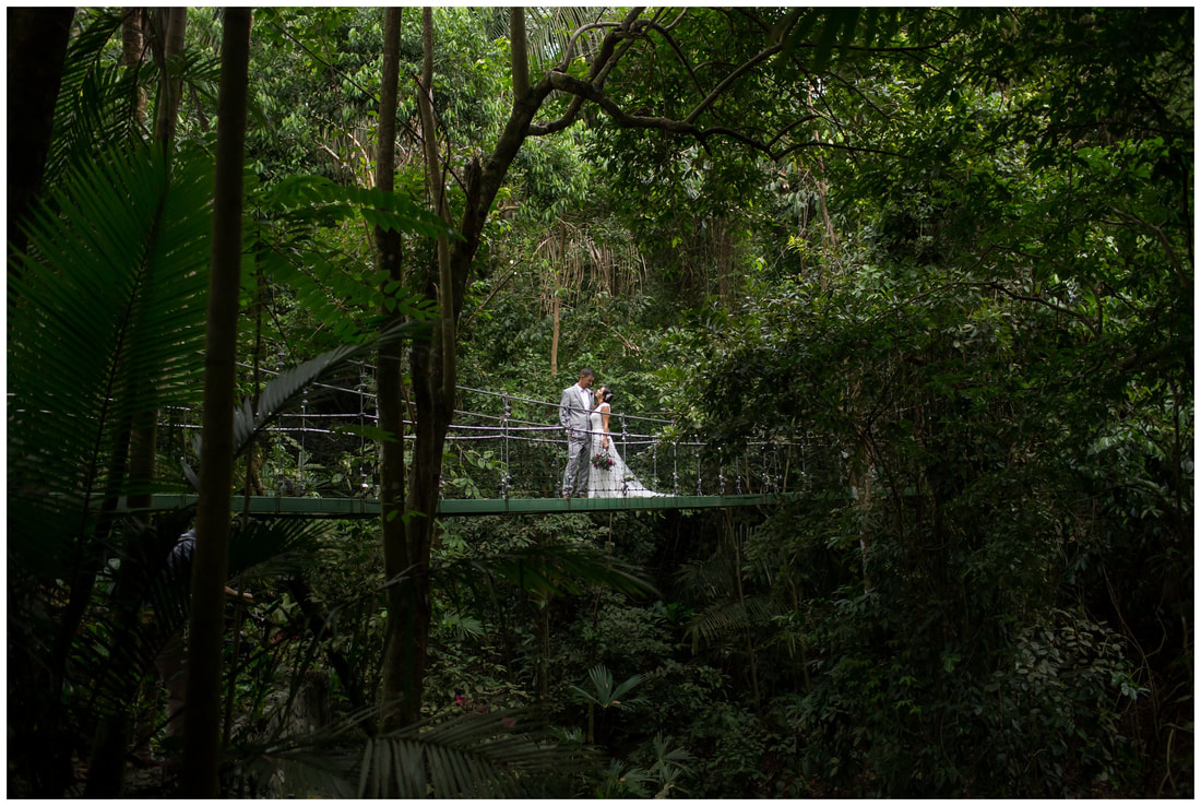 costa rica jungle wedding