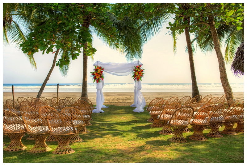 alma del pacifico, beach wedding