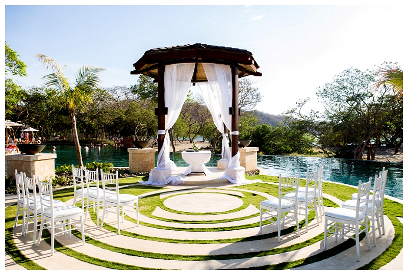 dreams las mareas, wedding gazebo