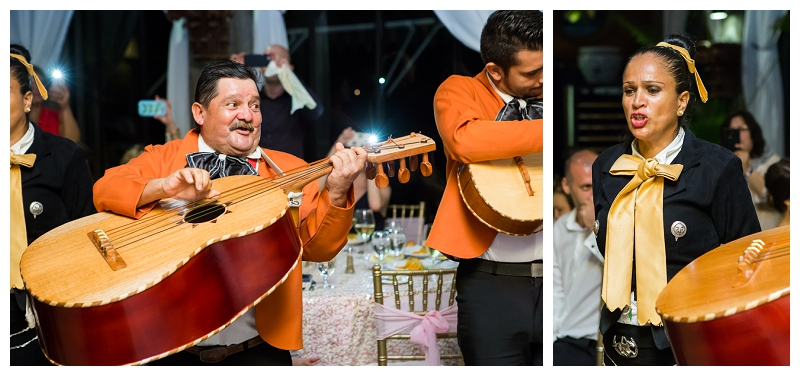 costa rica, mariachi band, wedding, entertainment