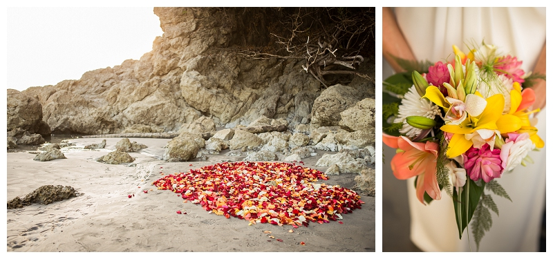 costa rica, wedding, florist, manuel antonio