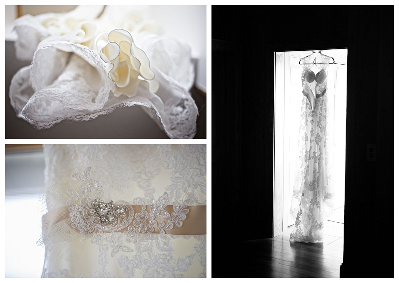 wedding dress details, nags head, nc, wedding photograph