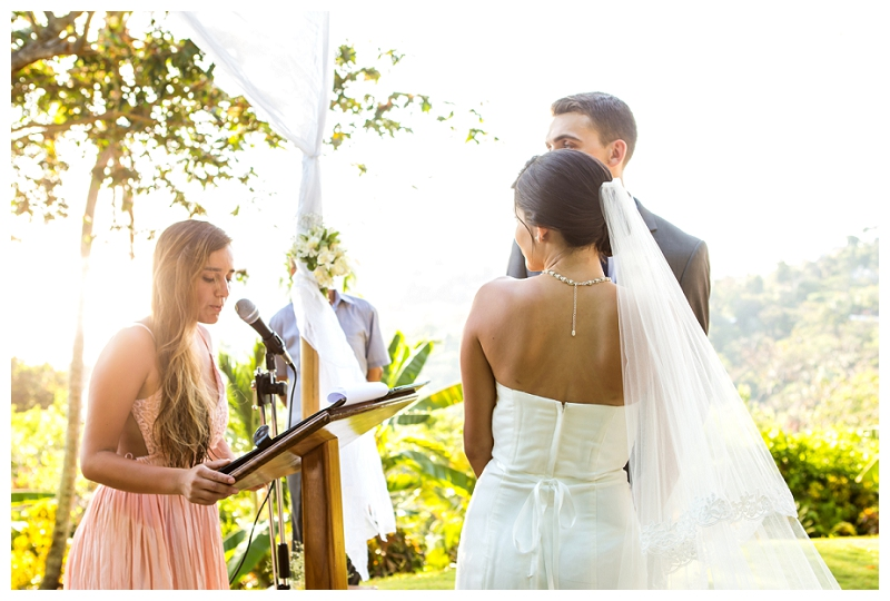 costa verde wedding ceremony, photography