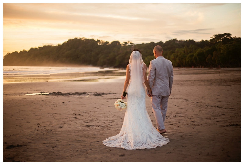 manuel antonio, beach weddings