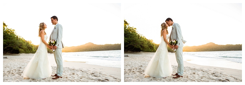 Playa conchal, destination wedding, photography